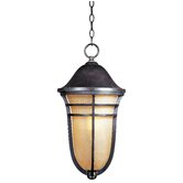 Westport VX Outdoor Hanging Lantern in Artesian Bronze