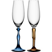 Wine and Champagne Glasses by Kosta Boda