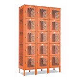 Invincible II Lockers- Five Tier- 3- Section (Unassembled)