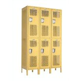 Invincible II Lockers- Double Tier- 3- Section (Assembled)