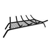 "27"" Steel Fireplace Grate"