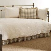 Trellis 5 Piece Daybed Set in Ivory