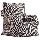 Big Joe Zebra Cuddle Bean Bag Lounger