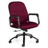Mid-Back Pneumatic Tilter Office Chair with Arms