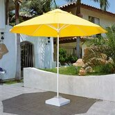 9' Remote Control Motorized Market Umbrella