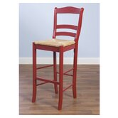 "Paloma 30"" Bar Stool in Red"