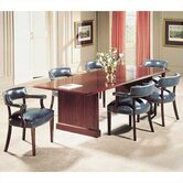 Traditional 72&quot; W Rectangle Conference Table