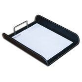 1400 Series Econo-Line Eco-Friendly Leather Front-Load Letter Tray