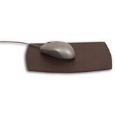 1000 Series Classic Leather Mouse Pad in Chocolate Brown