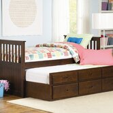 Zachary Twin / Twin Trundle Bed