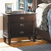 Houghton 3 Drawer Nightstand