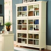 8891 Series Stackable Bookcase Center Unit in White