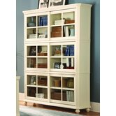 8891 Series Stackable Bookcase in White