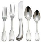 Monticello 5 Piece Flatware Set