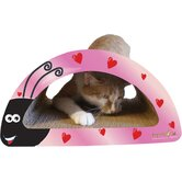 Love Bug 2-in-1 Combo Recycled Paper Scratching Post