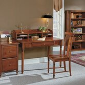 "Knob Hill 48"" W Desk and Hutch"