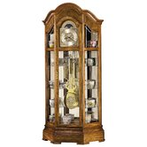 Majestic Curio Grandfather Clock Cabinet