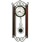 Carmen Wrought - Iron Quartz Wall Clock