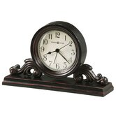 Bishop Alarm Clock in Worn Black