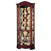 Jamestown Corner Curio Cabinet