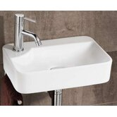 Lugo Washbasin in White