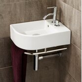 Africo Washbasin in White