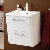 Palamas 50cm WH Vanity Set in White