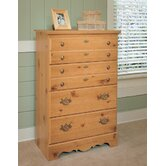 Mountain Pine 4-Drawer Chest