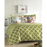Kew Green Duvet Set - Full/Queen