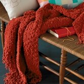 Temi Throw in Coral