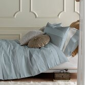 3 Piece Belgravia Duvet Set in Iced Blue
