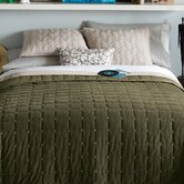 Paulo Coverlet Set in Olive