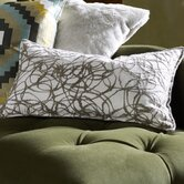 Salta Pillow in White / Slate