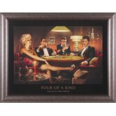 Four Of A Kind Framed Artwork