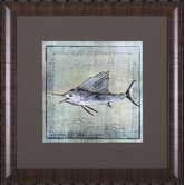 Ocean Fish VIII Framed Artwork