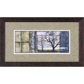 Small Tandem Trees III Framed Artwork