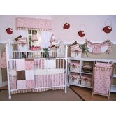 Pink Ladybugs and Dragonflies Crib Bedding Collection