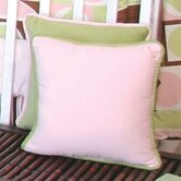 Modern Baby Girl Caffe Pillow in Pink