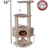 52&quot; Casita Fur Cat Tree