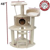 48&quot; Casita Fur Cat Tree