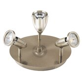 Agron Directional 3 Light Semi Flush Mount