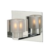 Blocs  Wall Sconce in Chrome