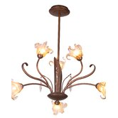 Bloom 6 Light Chandelier