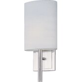 Edinburgh I  Wall Sconce in Satin Nickel