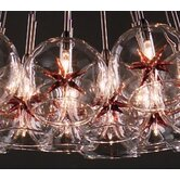 Starburst 9 Light Pendant