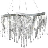 Crystal Sensation 10 Light Pendant