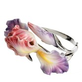 Windswept Beauty Iris Bracelet
