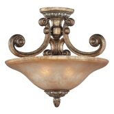 Carlyle 2 Light Semi Flush Mount