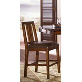 Mesa Rustica Slat Back Barstool