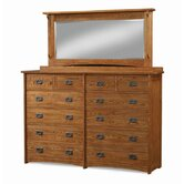 Mission 12 Drawer Dresser